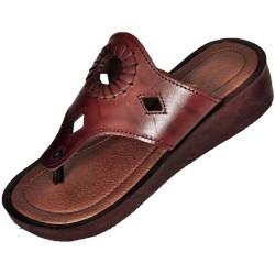Dámske kožené sandále Kleopatra