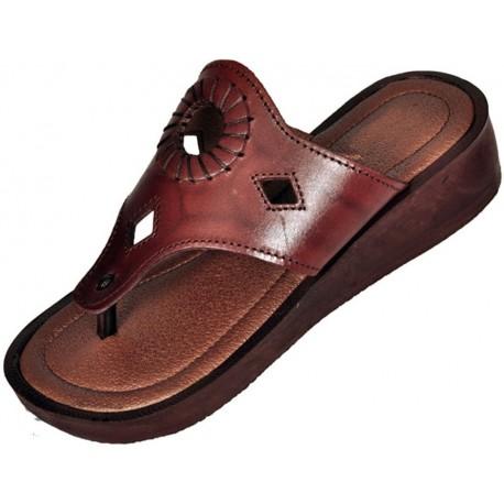 Dámske kožené sandále 200 Kleopatra
