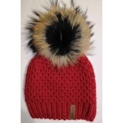Winter Strickmütze rot