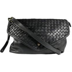 Kožená kabelka Vintage 5561A černá