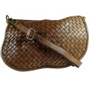 Leather handbag Vintage 5757A brown