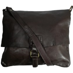 Kožená kabelka Vintage 5794A čierna