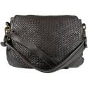 Kožená kabelka Vintage 5795A černá