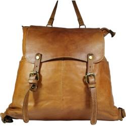 Kožený batoh Vintage A100 hnědý