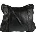 Kožená kabelka Vintage A267 čierna