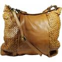 Lederhandtasche Vintage A267 braun