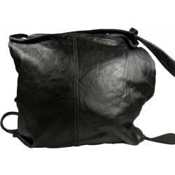 Lederhandtasche Vintage A280 schwarz