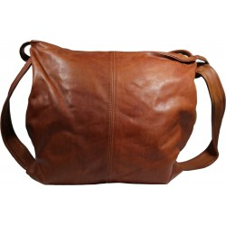 Leather handbag Vintage A280 brown