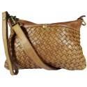 Lederhandtasche Vintage L6093 braun