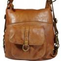 Kožený batoh Vintage 5720A hnedý