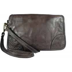 Kožená kabelka Vintage 9202 černá