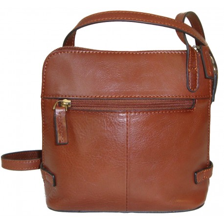 Leather Handbag 1806 (16x16x8,5)
