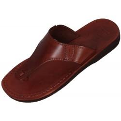 Unisex kožené sandály Tutanchamon