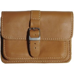 Leather belt case PZ1 brown