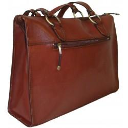 Kožená kabelka 82132 (32,5x26x11)