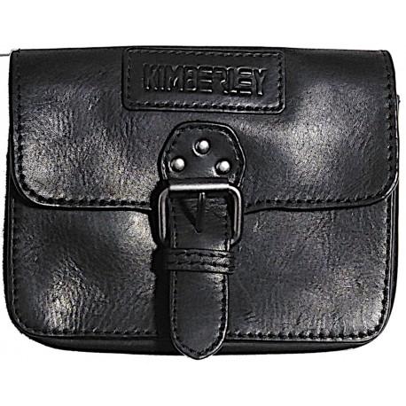 Leather belt case Kimberley black