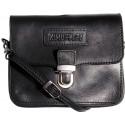 Leather belt case and shoulder bag Kimberley 3279 black