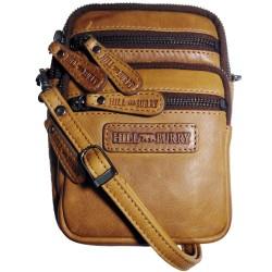 Malá pánská kožená taška přes rameno Hill Burry 3192 hnědá