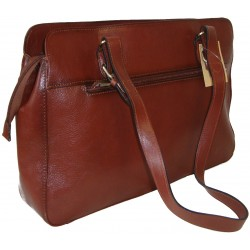 Leather Handbag 82365 (41x27x10)