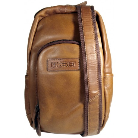 Leather backpack Kimberley 3110 brown