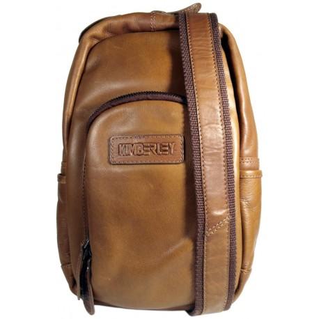 Kožený batoh Kimberley 3110 hnedý