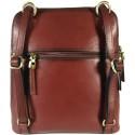 Women's leather handbag and backpack Katana 82364-03