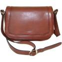 Kožená kabelka 82368 (25x18,5x8)