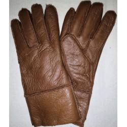 Winter Damen Lederhandschuhe schwarz 1