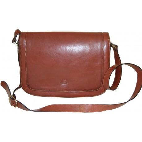 Kožená kabelka 82369 (28x20x12)