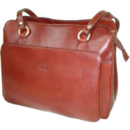 Kožená kabelka 82374 (30x24x11,5)