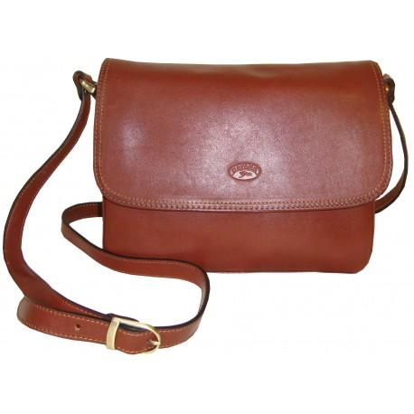 Kožená kabelka 82514 (25x19x8)