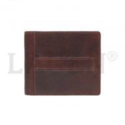 MEN'S LEATHER WALLET LA-10210 - BROWN - TAN