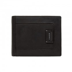 MEN'S LEATHER WALLET LG-1131-BLACK - BLK