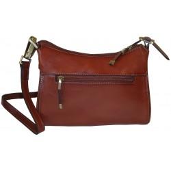 Kožená kabelka 82515 (23x17x8)