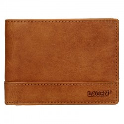 MÄNNER LEDER WALLET LM-64665 / V-BROWN - BRN
