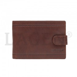 MÄNNER LEDER WALLET LV-8004-BROWN - TAN