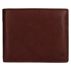 MEN'S LEATHER WALLET V-76-BROWN - BRN