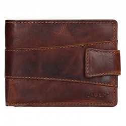 MEN'S LEATHER WALLET V-98 / M - BROWN - BRN