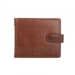 MEN'S LEATHER WALLET W-2006-BROWN - BRN