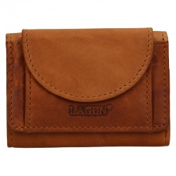 UNISEX LEATHER WALLET 6583 / V - BROWN - BRN