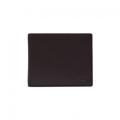 MÄNNER LEDER WALLET W-8155-BROWN - BRN