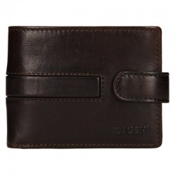 MÄNNER LEDER WALLET 1997 / T - DARK BROWN - D.BRN