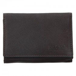WOMEN'S LEATHER WALLET LM-2520 / E - BROWN - BRN
