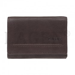 WOMEN'S LEATHER WALLET LM-2520 E / P - BROWN - BRN