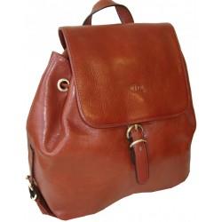 Kožený batoh 82896 (32x30x12)