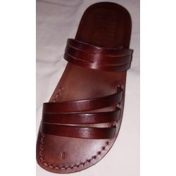 Unisex kožené sandále Smenchkare