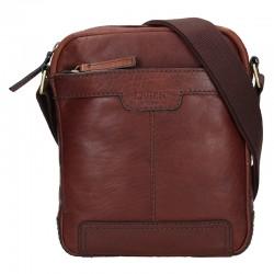 SHOULDER BAG 20654 - DARK BROWN - BRN