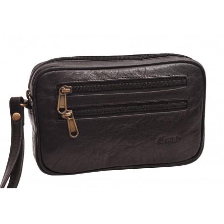 Leather case black 260110