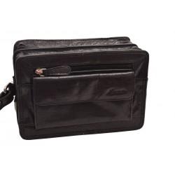 Kožená etue taška ČERNÁ 260111