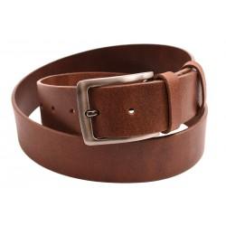 Men's leather belt 736-40-25 cognac